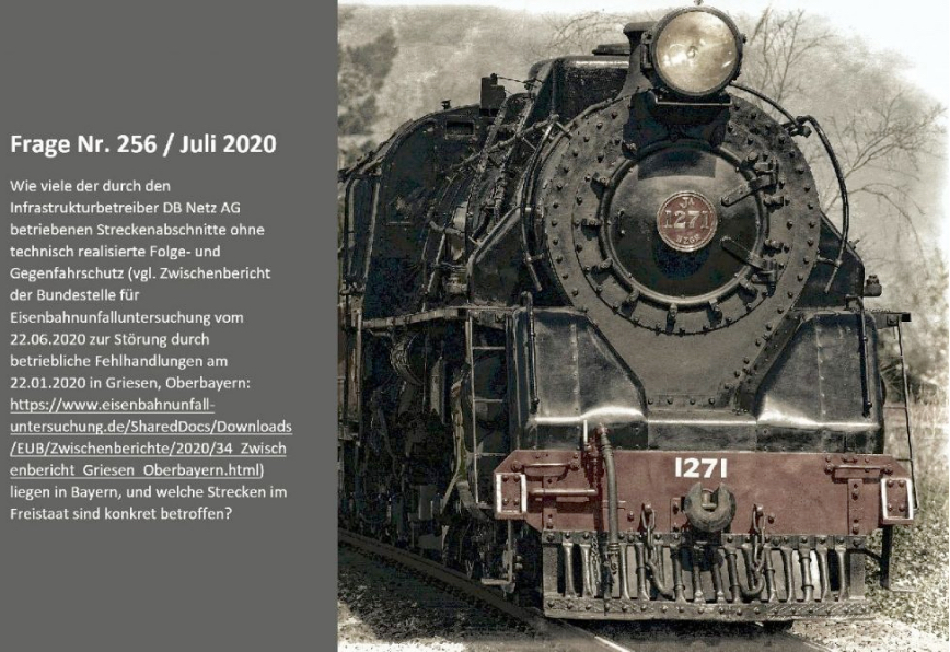 Bahn teils auf dem Stand von vor 100 Jahren EN