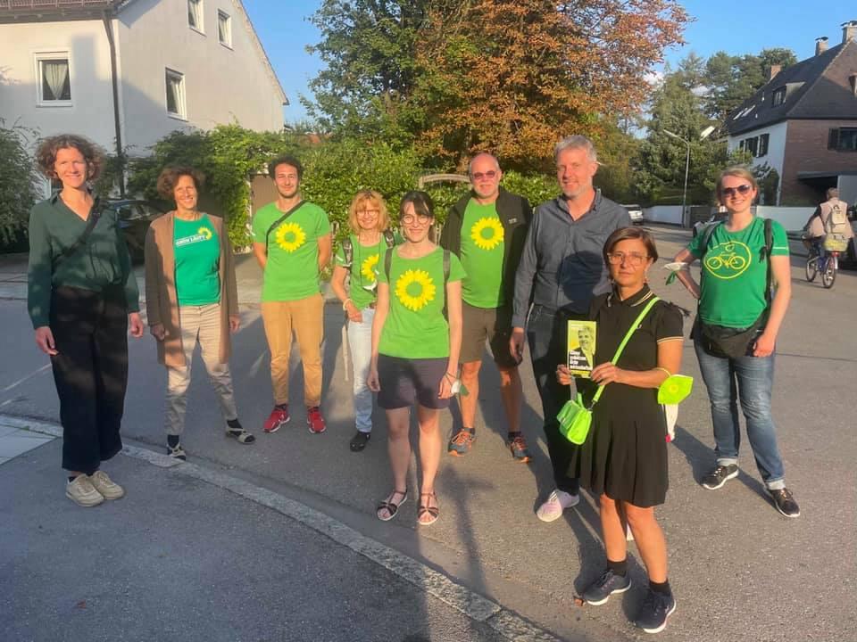 Eindrücke vom Wahlkampf in München